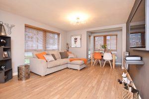 West End Property in Anniesland - living room